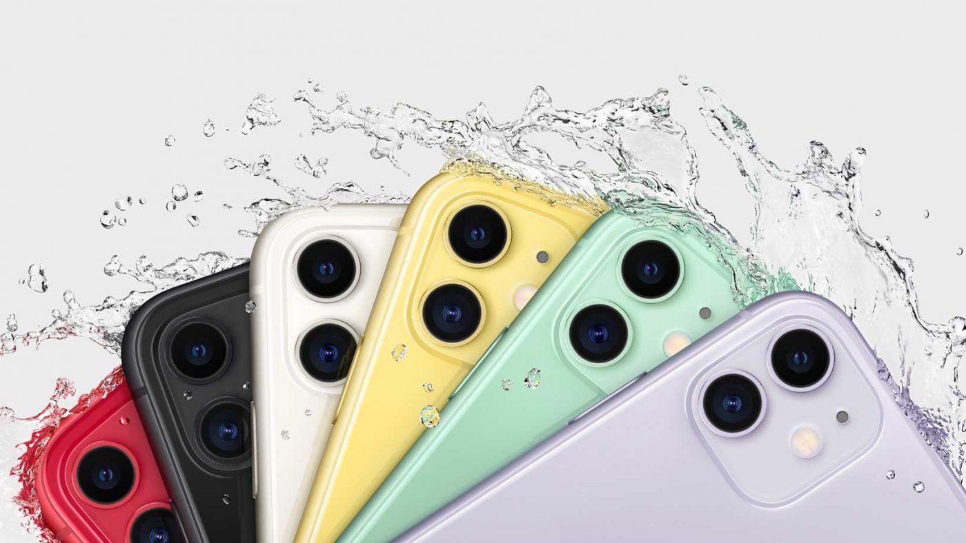 Apple iphone 11 water resistant