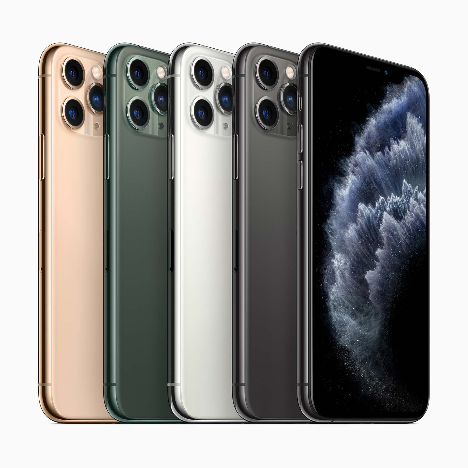 iPhone 11 Pro and iPhone 11 Pro Max colours