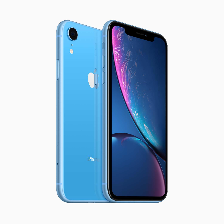 iPhone XR in Blue