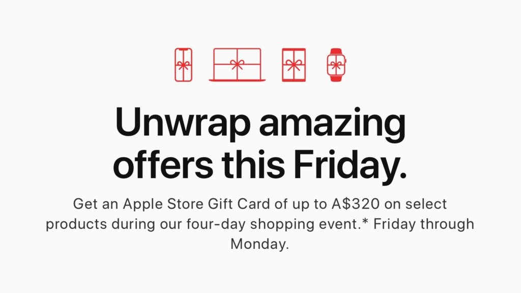 Apple Shopping Event 2019