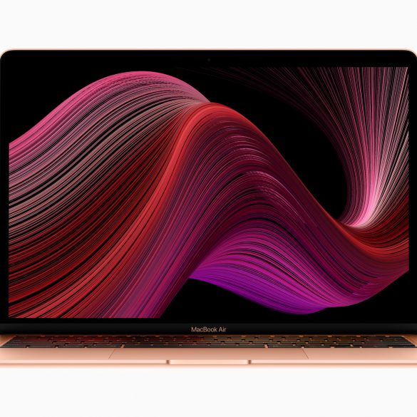 Apple new Macbook Air 2020 wallpaper screen