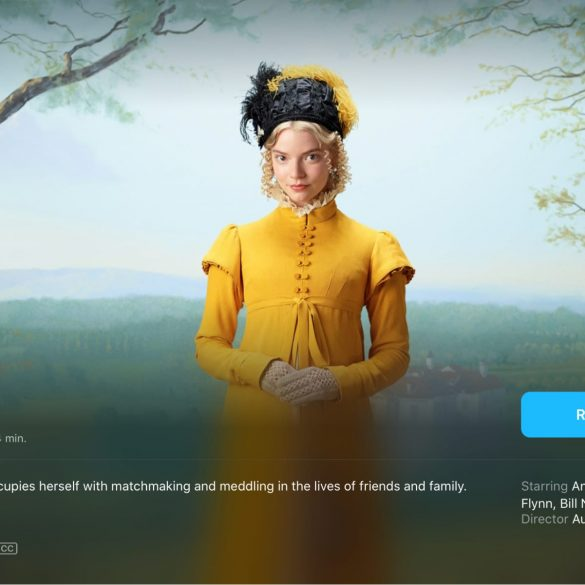 EMMA film on Apple TV app Australia