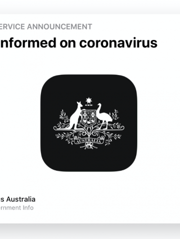 Official Coronavirus iPhone App Australia