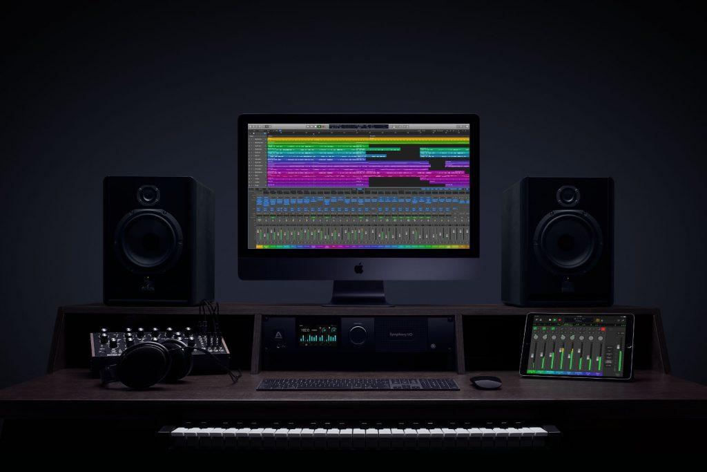 Logic Pro X on iMac Pro with iPad Pro