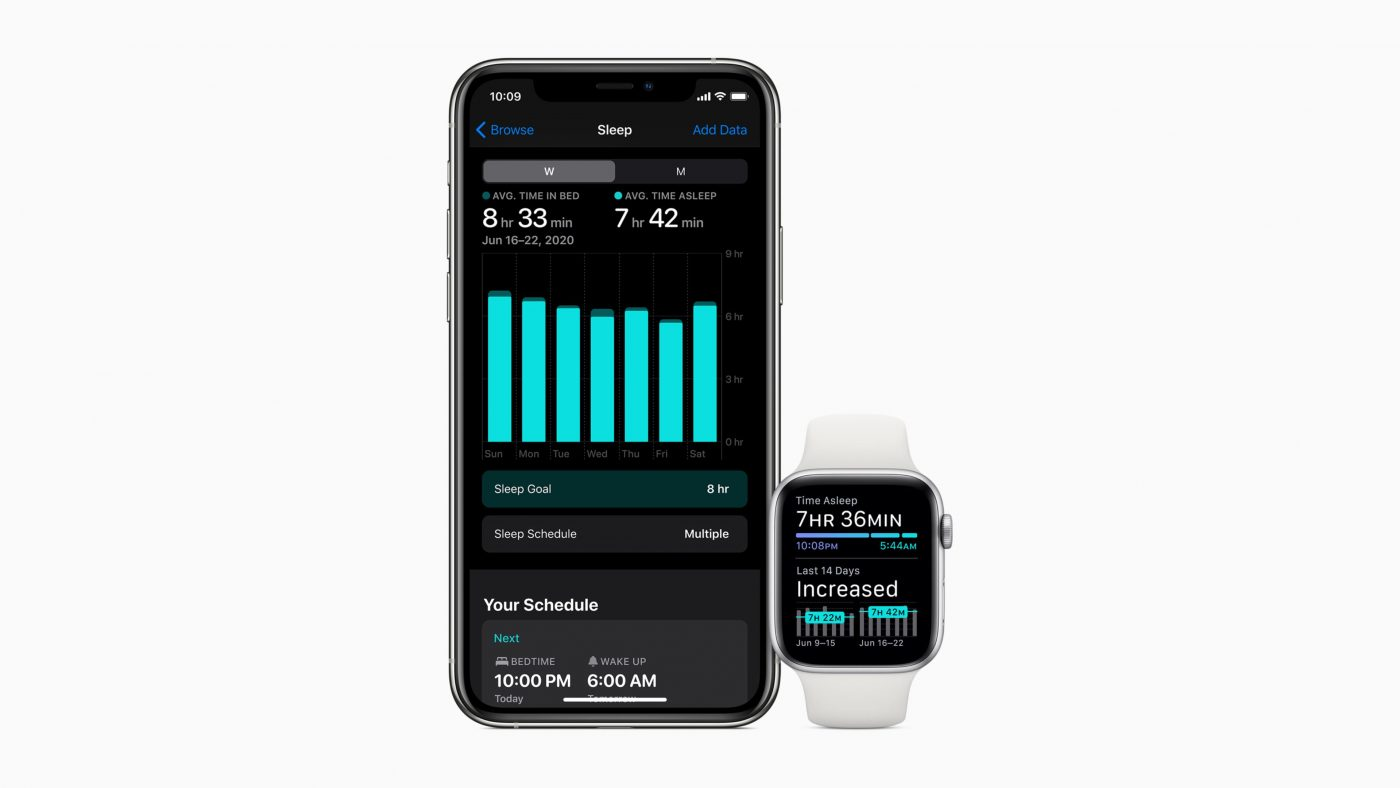 Apple Watch Sleep Tracking watchOS 7