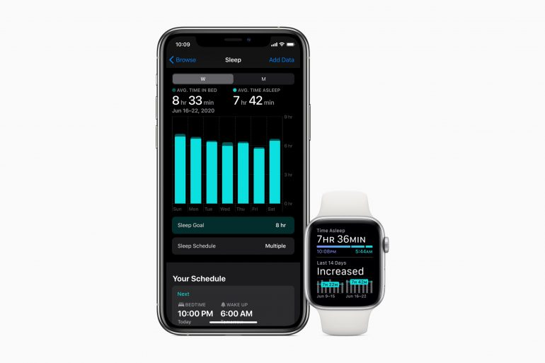 Apple Watch Sleep Tracking watchOS 7