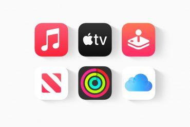 Apple One bundle services icons