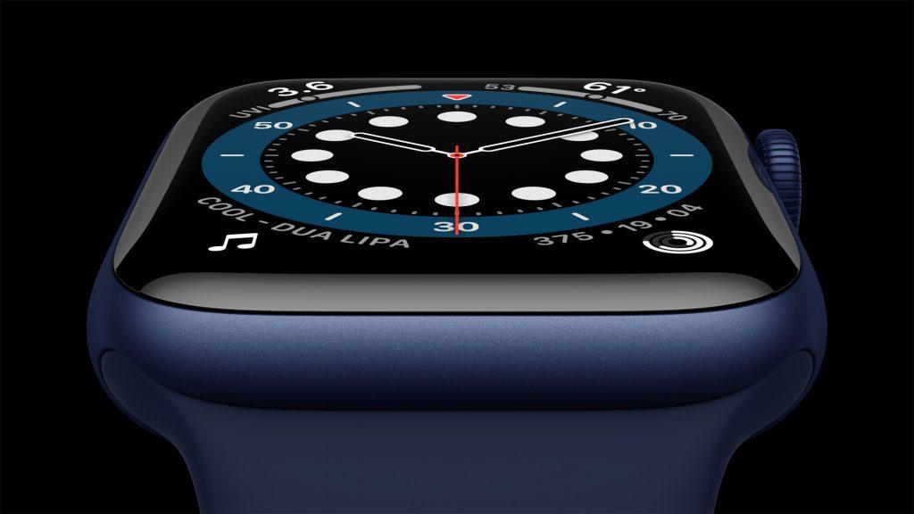 Apple Watch Series 6 Blue Aluminium