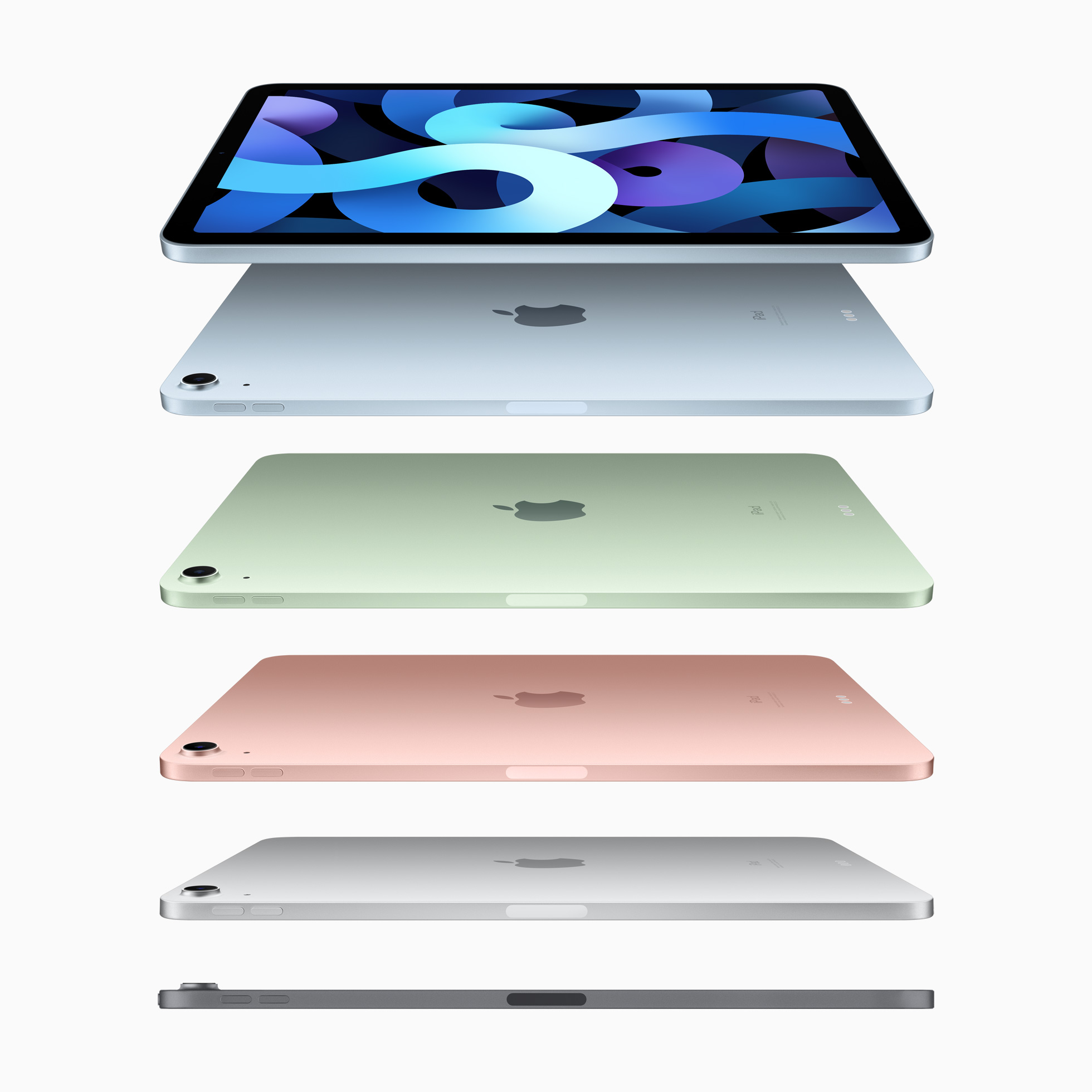 Apple iPad Air 2020 design and colours