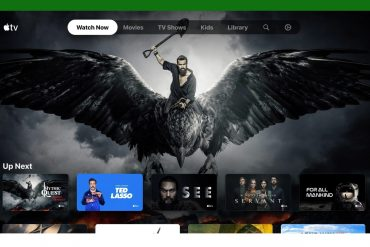 Apple TV app on Xbox Series X and Xbox Series S