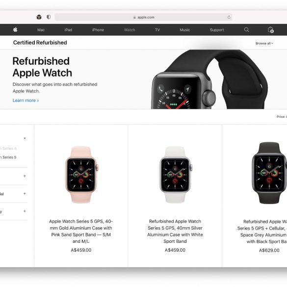 Refurbished Apple Watch apple online Australia