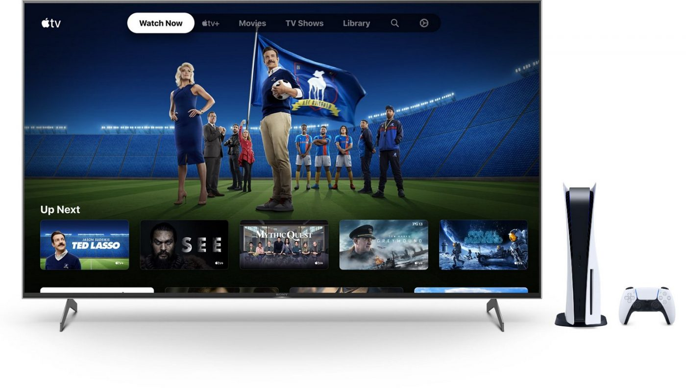 Apple TV Plus on PlayStation 5 Console